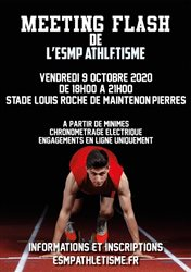 Meeting Flash ESMP Athlétisme