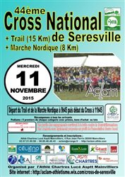 44ème cross national de Seresville le 11 novembre